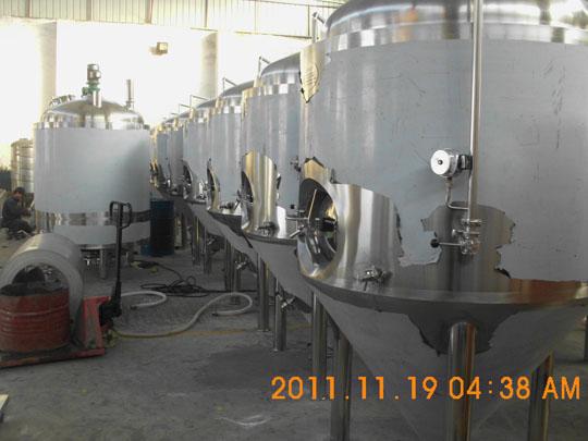 1600L fermenter Brewery